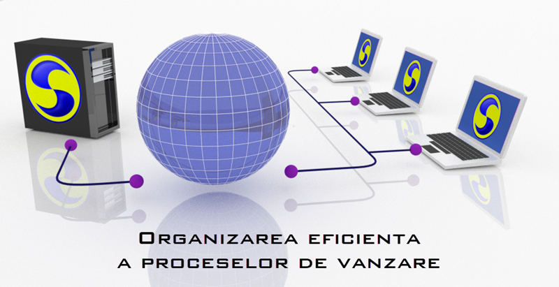 Visualisation of effective organization of sales processes