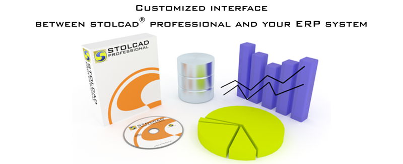 Interface between Stolcad and ERP program